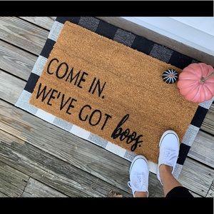Coir doormat only